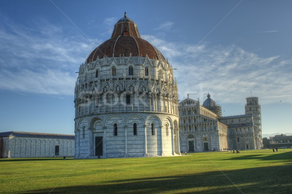 Baptistery Pisa Square of Miracles Stock photo © Fotografiche