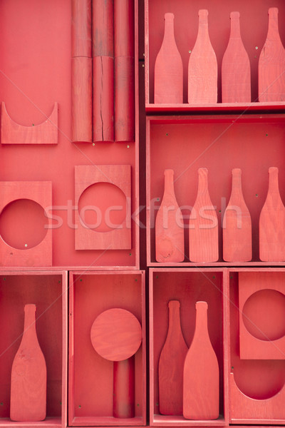 Stylization of small cellar Stock photo © Fotografiche