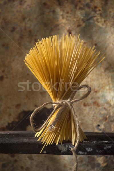 Italian cuisine, spaghetti Stock photo © Fotografiche