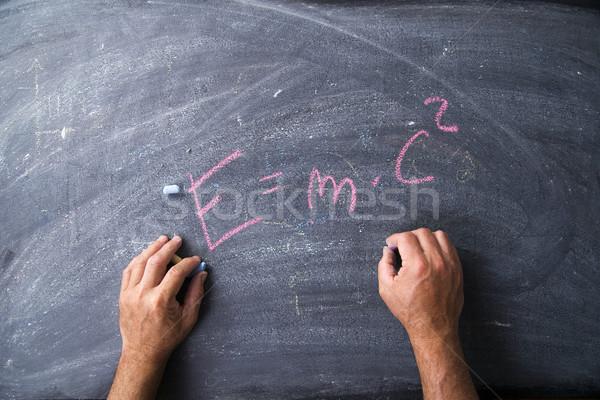 Energy representation formula Stock photo © Fotografiche