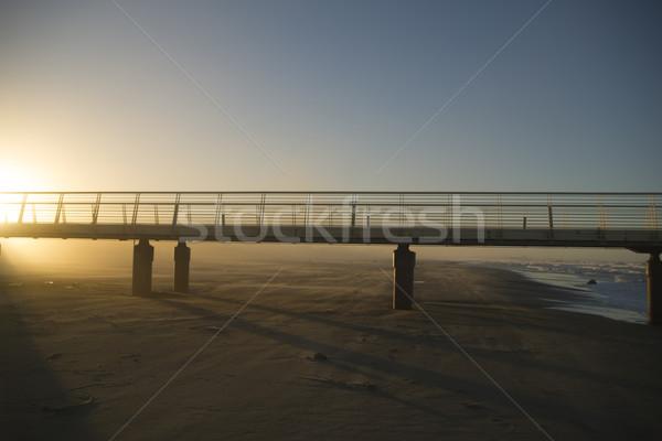 Pier ver toscana Itália construção paisagem Foto stock © Fotografiche