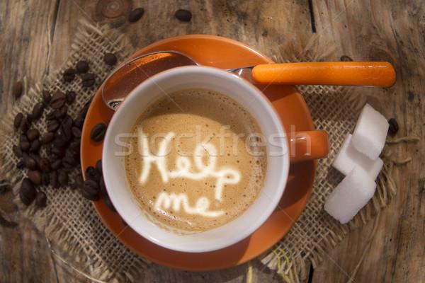 Help in coffee Stock photo © Fotografiche