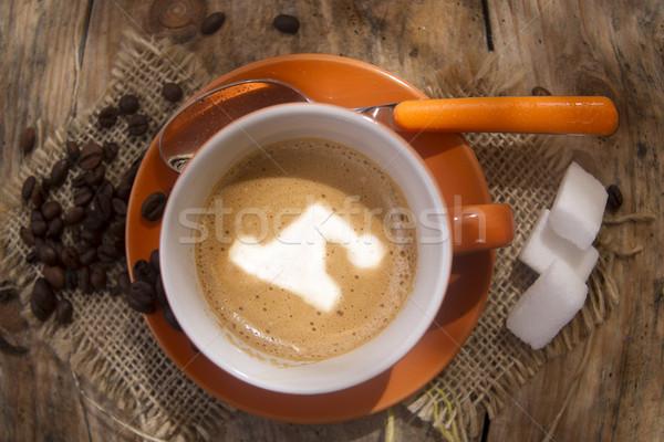 Café natal copo quente festa Foto stock © Fotografiche