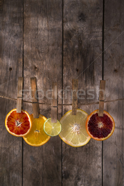 The colors of the citrus fruit Stock photo © Fotografiche