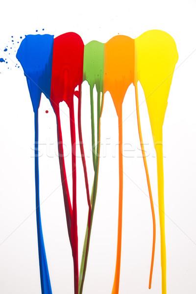 Strokes of color Stock photo © Fotografiche