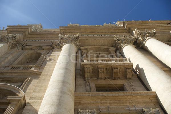 Aziz kilise ayrıntılar Aziz Petrus Bazilikası vatikan seyahat Stok fotoğraf © Fotografiche