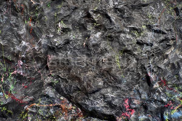 In streaming stelle nero colorato carnevale sfondo Foto d'archivio © Fotografiche
