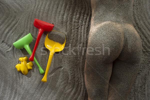 Summer Games on the beach Stock photo © Fotografiche