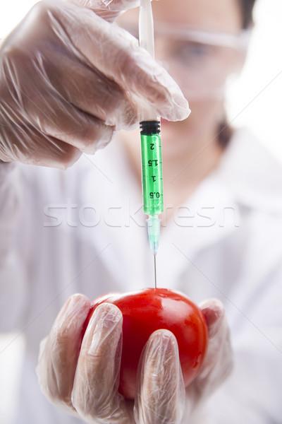 Apresentação laboratório etapa prática comida Foto stock © Fotografiche