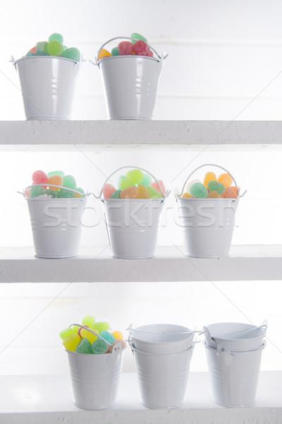 Multicolored soft candies Stock photo © Fotografiche