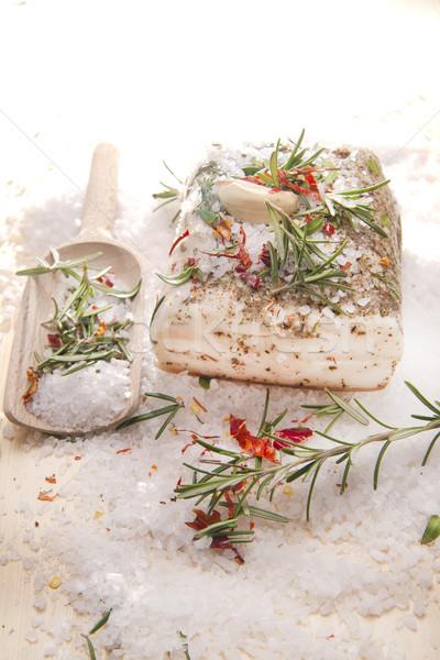 Termék bemutató tipikus olasz étel hús Stock fotó © Fotografiche