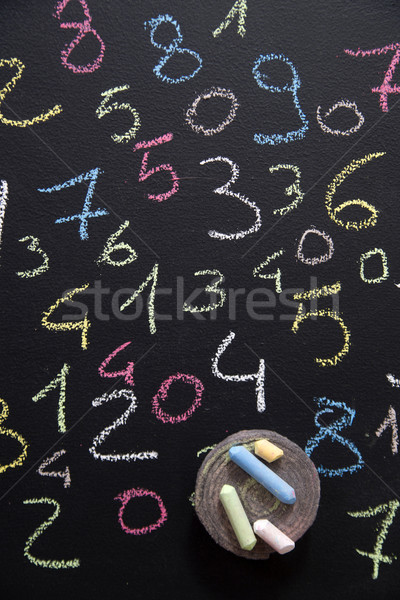 Various colored numbers Stock photo © Fotografiche