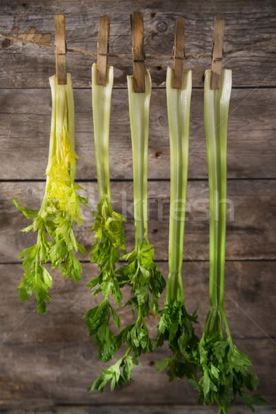 Fresche sedano prodotto giardino pronto alimentare Foto d'archivio © Fotografiche