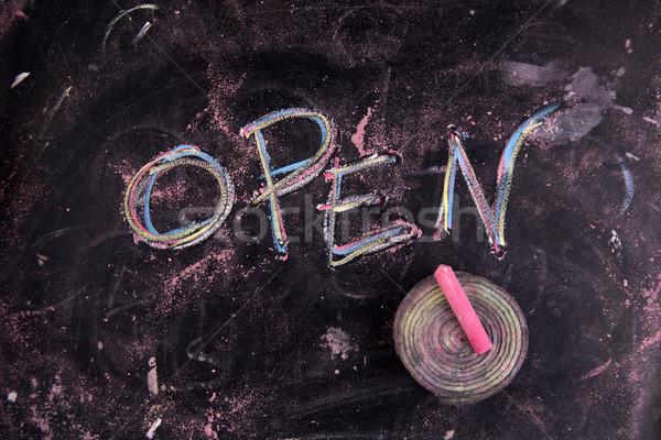 Open Stock photo © Fotografiche
