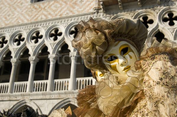 マスク ヴェネツィア カーニバル エレガントな 伝統的な イタリア ストックフォト © Fotografiche