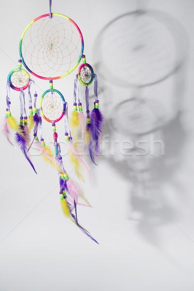 Cacciatore sogni tribali simbolo antica nativo Foto d'archivio © Fotografiche