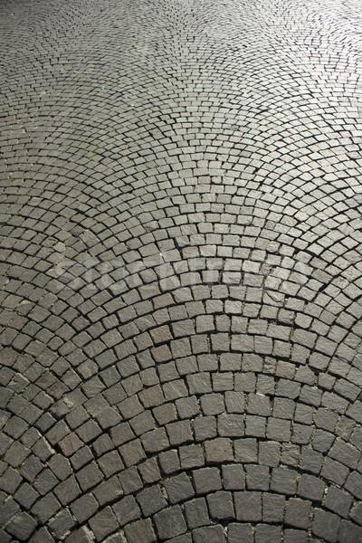 Urbaine carré vieux rue design fond Photo stock © Fotografiche
