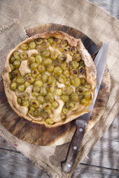 Szőlő eper fehér édes tipikus toszkán Stock fotó © Fotografiche