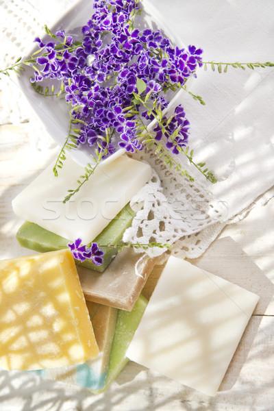 Colored Soap Flakes Stock photo © Fotografiche