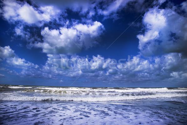 The sea in winter Stock photo © Fotografiche
