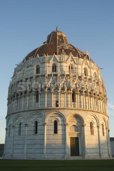 Piazza simbolo cattolico religione chiesa Toscana Foto d'archivio © Fotografiche