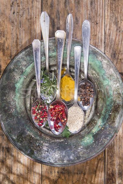 The spices in the kitchen  Stock photo © Fotografiche