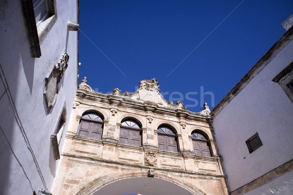 Ostuni, Paolo Giovanni square Stock photo © Fotografiche