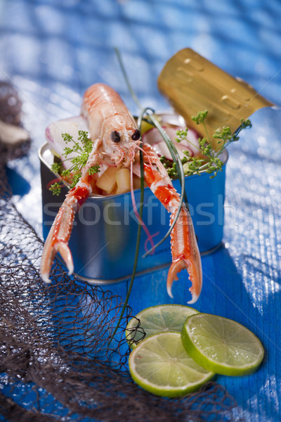 Crustacean canned  Stock photo © Fotografiche