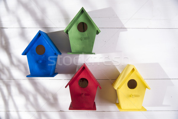 Homes for birds Stock photo © Fotografiche