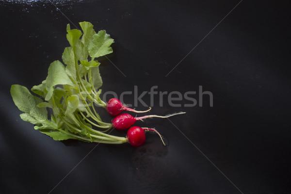 Taze kırmızı turp ürün bahar Stok fotoğraf © Fotografiche