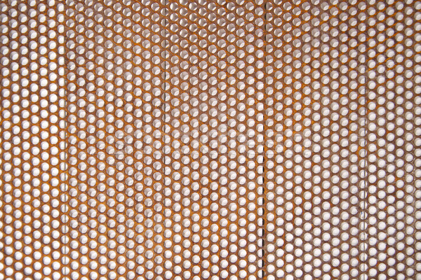 Perforated sheet Stock photo © Fotografiche