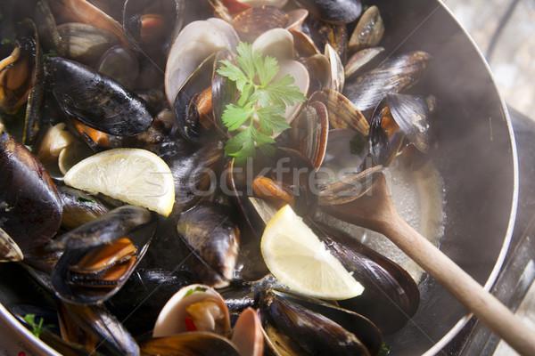 Soup seafood  Stock photo © Fotografiche