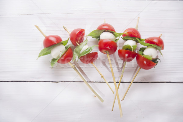 Caprese skewer Stock photo © Fotografiche