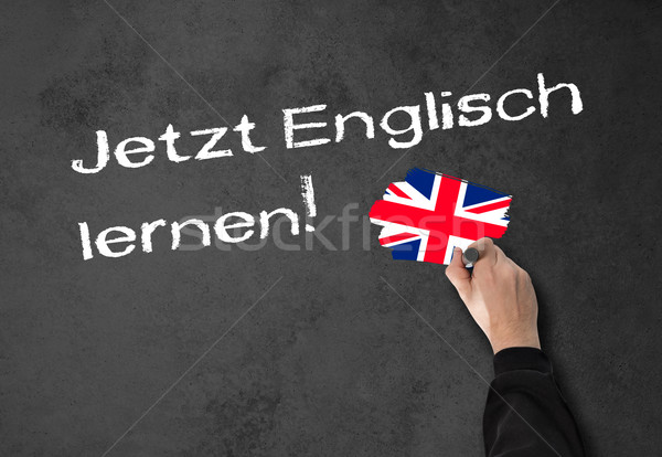 Learning English now! Stock photo © fotoquique