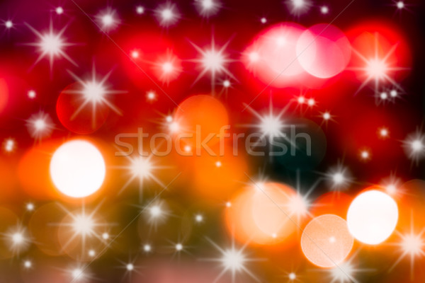 Christams Starlight background Stock photo © fotoquique