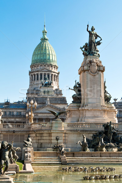 Congreso de la Nacion Argentina, in Buenos Aires Argentina Stock photo © fotoquique