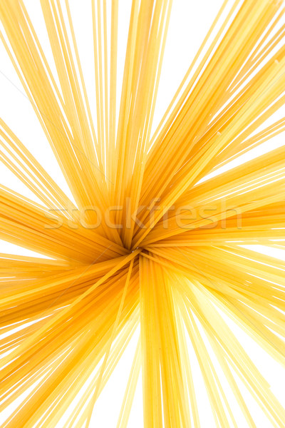 Spaghettis jaune séché texture alimentaire fond Photo stock © fotoquique
