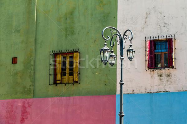 La coloré Buenos Aires historique maison Photo stock © fotoquique