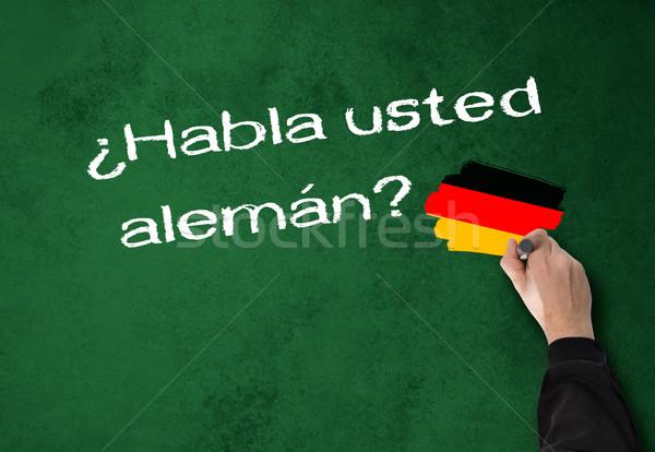 Do you speak German Stock photo © fotoquique