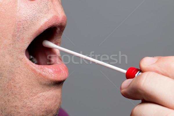 DNA, DNS test, wipe test Stock photo © fotoquique