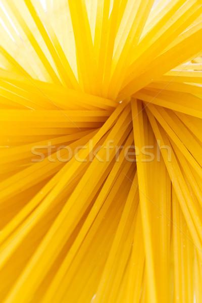Spagetti citromsárga aszalt textúra étel háttér Stock fotó © fotoquique