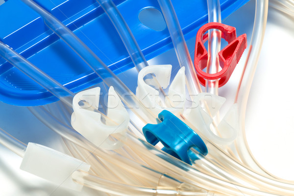 peritoneal dialysis Stock photo © fotoquique