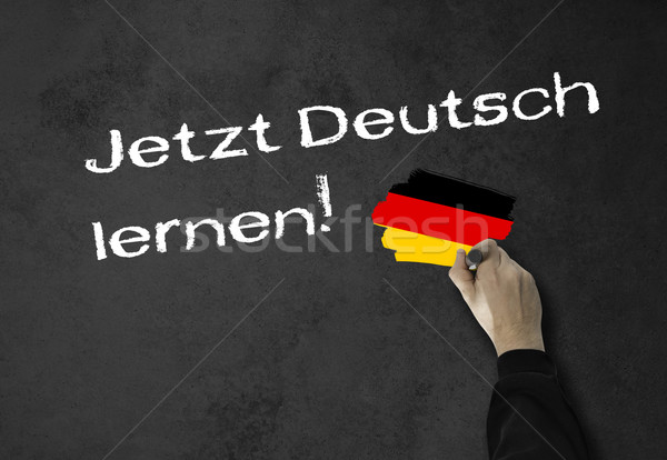 Learning German now! Stock photo © fotoquique