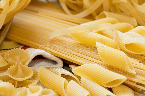 homemade pasta Stock photo © fotoquique