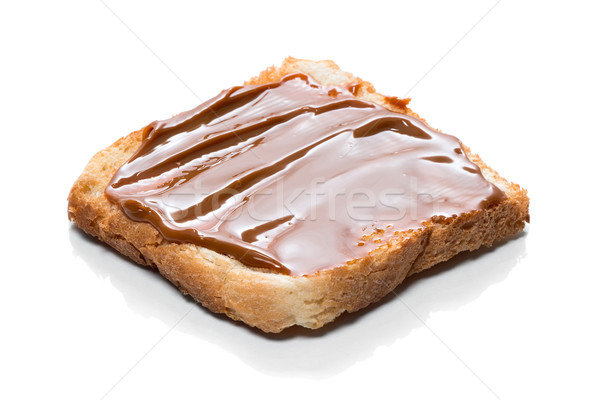 Toast with caramel cream 'Dulce de Leche' Stock photo © fotoquique