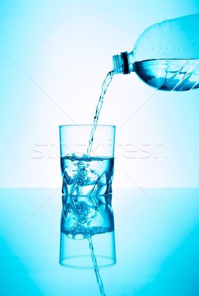 édesvíz üveg víz üveg folyadék friss Stock fotó © fotoquique