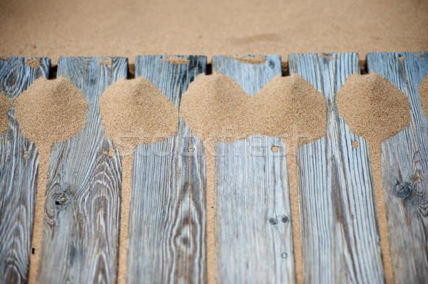 Kum plaj kumu baltık denizi plaj çöl arka Stok fotoğraf © fotorobs