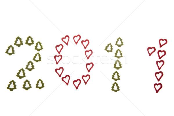 2011 年 心 赤 おもちゃ ストックフォト © fotorobs