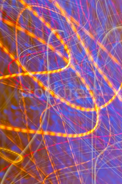 Abstract veelkleurig afbeelding goede licht Stockfoto © fotorobs