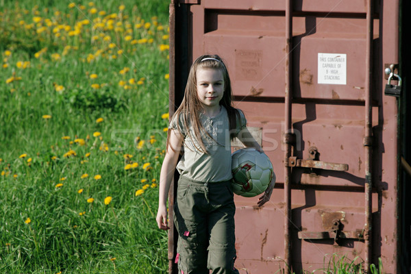 Young girl in summer day. Stock photo © fotorobs